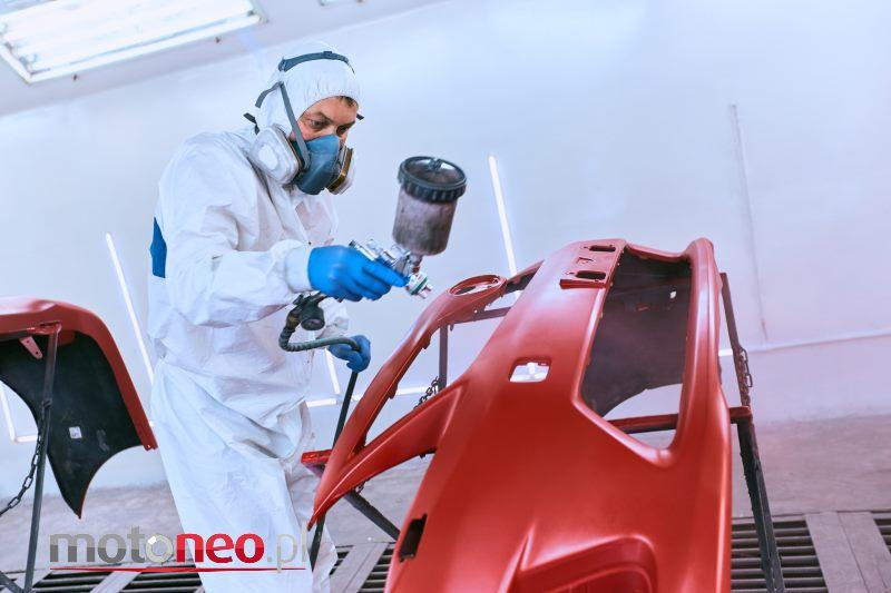 Naprawa lakierowanie auta po stłuczce