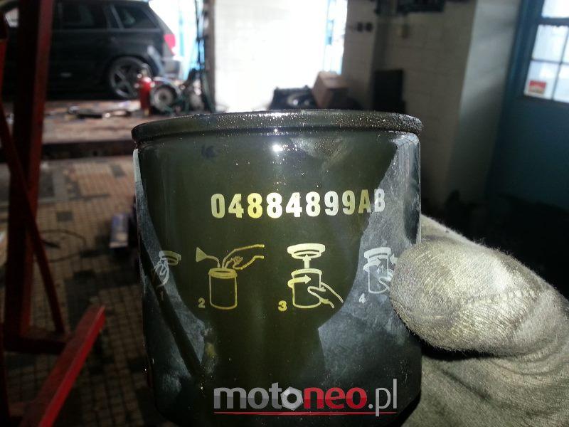 wymiana filtra oleju